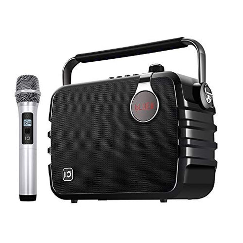 Powerful Wireless Party Karaoke Mike Voice Amplifier with Bluetooth Speaker – 60W Outdoor Party Speaker with Mic