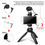Smartphone Video Kit with Shotgun Cardioid Mic - Christmas Gift for Brother, Sister