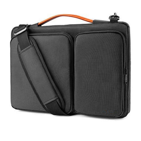 Premium 360 Protective Laptop Shoulder Bag for 2020 New Dell XPS 15, 15-inch MacBook Pro -