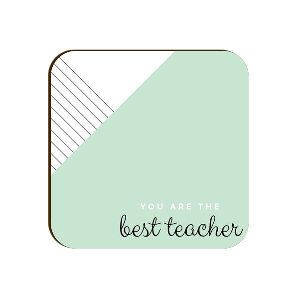 Coaster for Teachers Day Gift