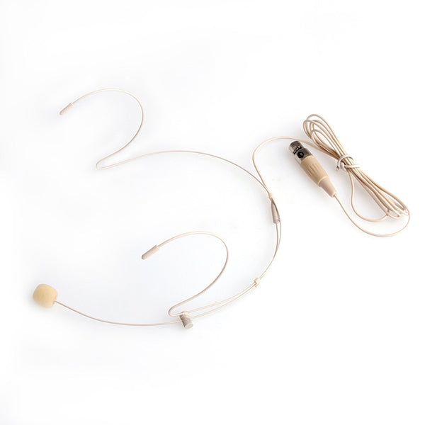 Dual Ear Hook Mic Headset Head Mic Microphone For Shure ALL XLR 3PIN TA3F