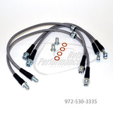 Stainless Steel Brake Hose Kit