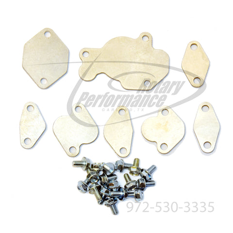 1993-02 RX-7 Block Off Plate Kit (with hardware)