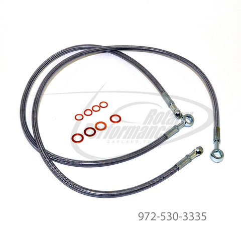 Steel Braided Oil Metering Line Set