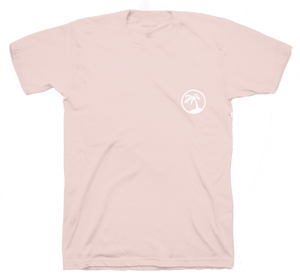 Saint Luke BVI Reunion T-Shirt in Sun Bleached Pink