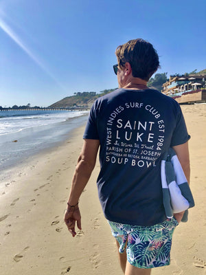 Saint Luke West Indies Surf Club T-Shirt