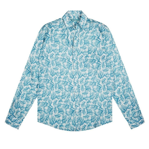 Saint Luke Reef Club Linen Shirt
