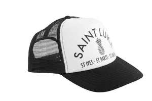 Saint Luke Black Snapback
