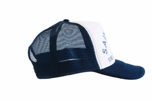 Saint Luke Blue Snapback