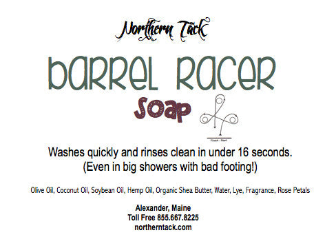 Barrel Racer Soap