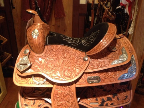 Child's Ozark Saddle - Show Saddle