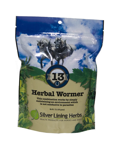 Silver Lining Herbs 13E Herbal Wormer