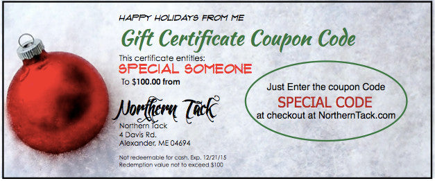Gift Certificate - Gift Card