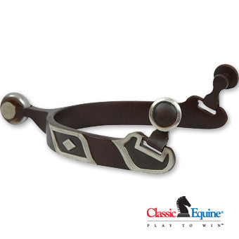 Classic Equine Diamond Spur with Chubby Rowel