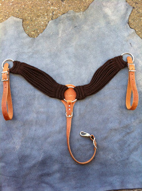 Mohair Blend Cincha Breast Collar