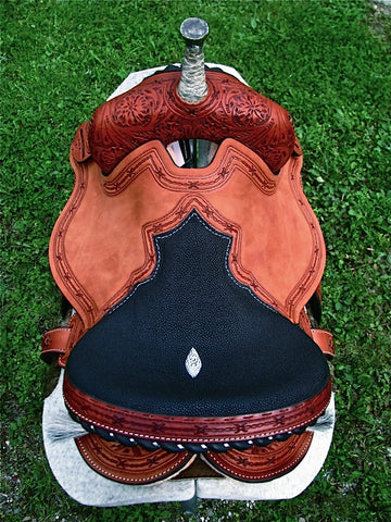 Build Your Custom Barrel Saddle - The Ghost