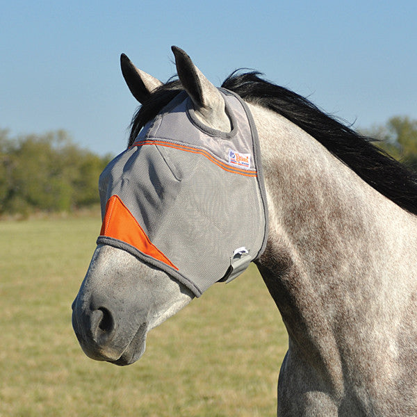 Cashel Crusader Orange Fly Mask