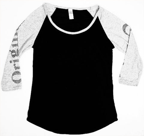 Original Cowgirl Bling Baseball Tee