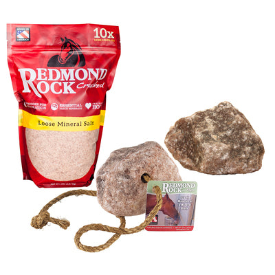 Redmond Rock Unrefined Loose Salt for Horses