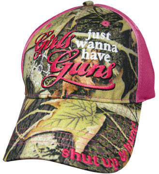 Girls Just Wanna Have Guns Cap