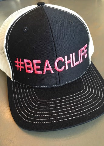 #BEACHLIFE Navy Hat
