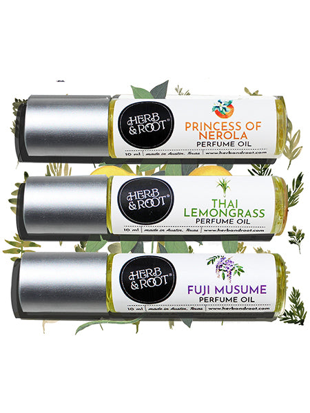 Citrus Perfume Oils Trio