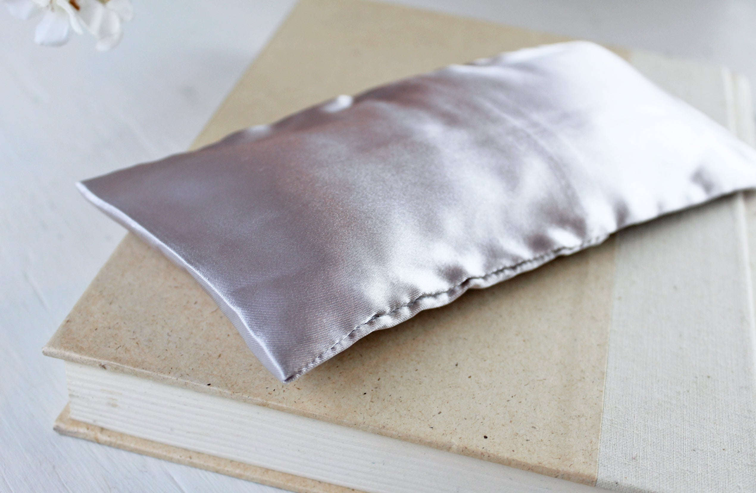 Lavender Satin Eye Pillow