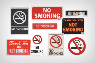 No Smoking Signs & Decals