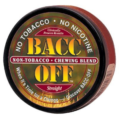 Bacc Off Original Smokeless Tobacco Substitute - Straight - 5 cans
