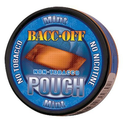 Bacc Off Pouches - Smokeless Tobacco Substitute - Mint - 5 cans