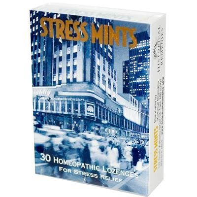 Historical Remedies Stress Mints, Homeopathic Stress Lozenges, Peppermint, 30 ct