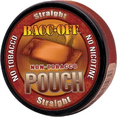 Bacc Off Pouches - Smokeless Tobacco Substitute - Straight - 5 cans