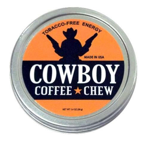 Cowboy Coffee Chew - Non Tobacco, Nicotine Free, Smokeless Tobacco