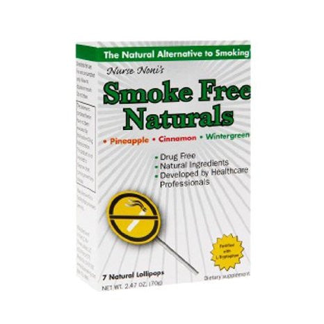 Three Lollies Smoke Free, Natural Pops, 7 Count  f