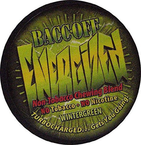 Bacc Off Energized - Smokeless Tobacco Substitute - Wintergree - 5 Cans
