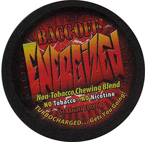 Bacc Off Energized - Smokeless Tobacco Substitute - Straight - 5 Cans