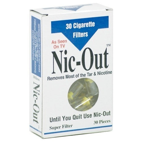 Nic-Out Cigarette Filters (30 Filters)