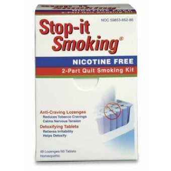 Stop-it Smoking 2 Part Quit Smoking Kit, 108-Count