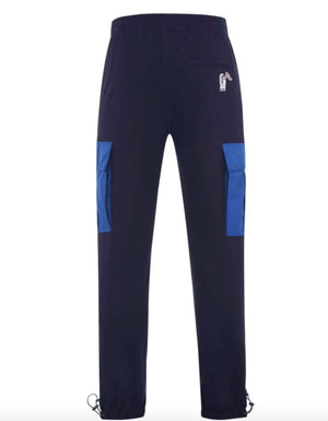 Load image into Gallery viewer, Billionaire Boys Club Cargo Sweatpants Navy HemingCo