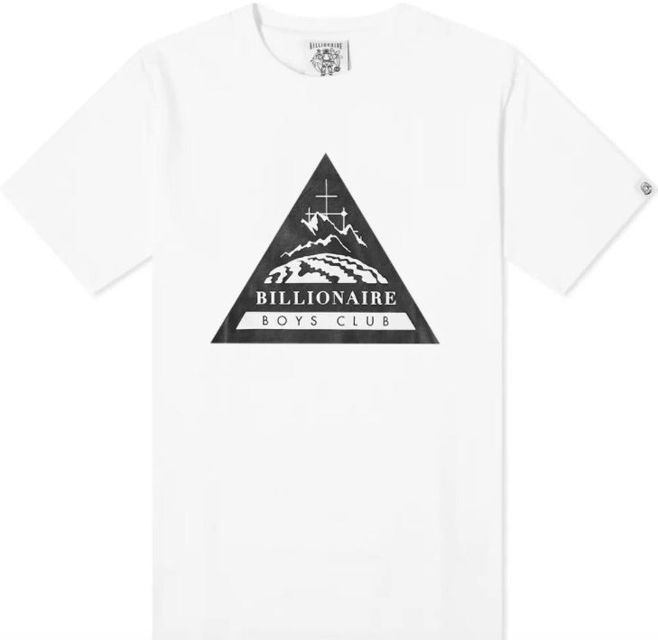 BBC Leopard White Expedition Logo T-Shirt HemingCo