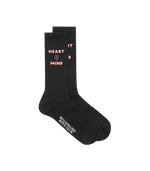 BBC Heart&Mnid Sock Black HemingCo