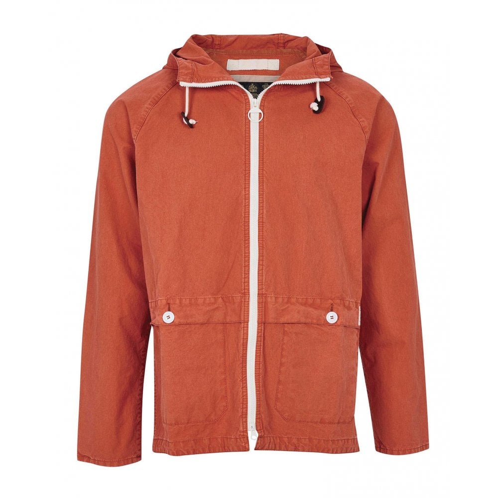 Barbour Bennet Casual Jacket Orange HemingCo