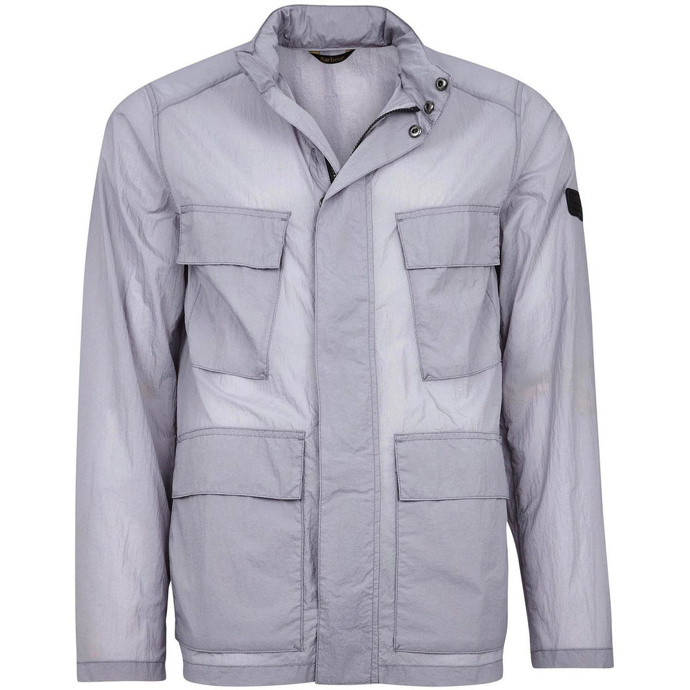 Barbour International Atholl Casual Jacket Silver HemingCo