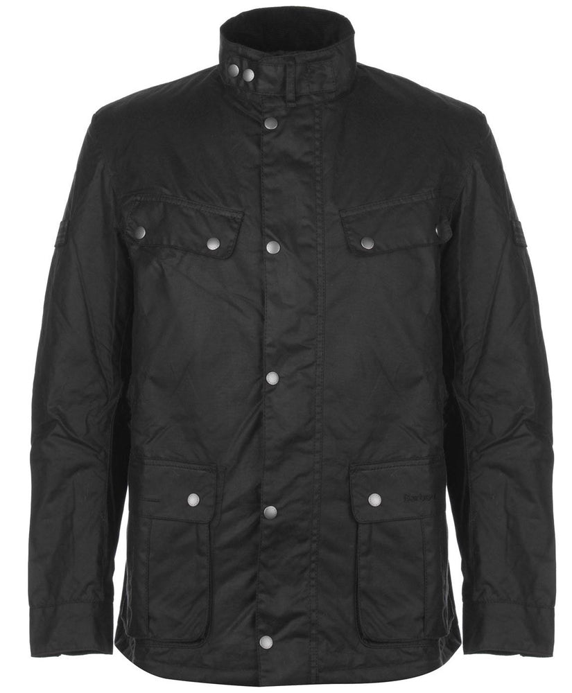 Barbour Int Duke Wax Black HemingCo