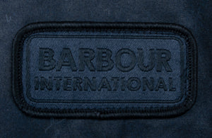 Load image into Gallery viewer, Barbour International Duke Wax Navy HemingCo