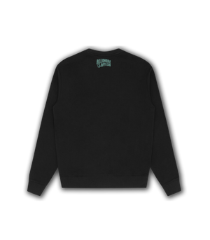 Load image into Gallery viewer, BBC Astro Embroidered Sweatshirt Black HemingCo