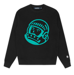 Billionaire Boys Club Astro Embroidered Sweatshirt: BLACK