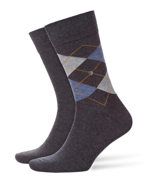 Burlington Everyday Mix Grey Sock HemingCo