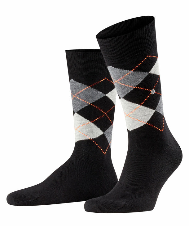 Burlington King Sock Black Hemingco