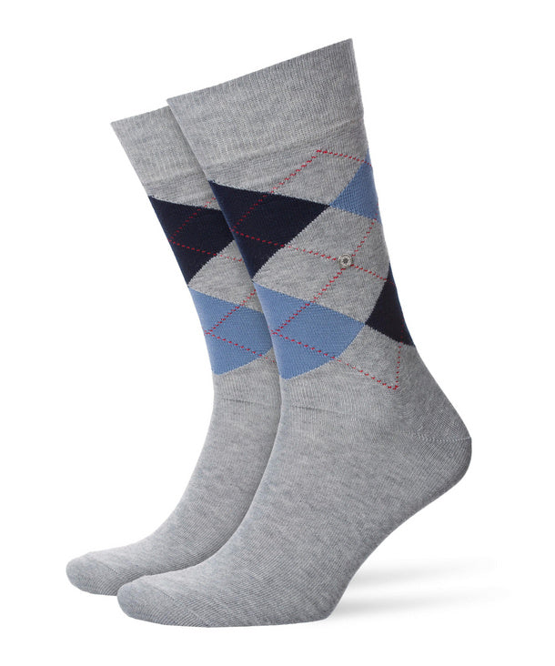 Burlington King Socks Grey HemingCo
